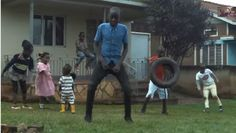 There's something so fun about watching these children enjoy themselves like this...we just want to join!