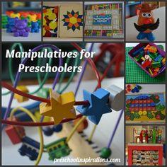 Manipulatives for Preschoolers