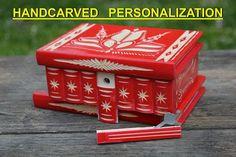 Mystery box Wooden Magic Box trick box Hungarian secret box