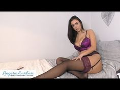 PREVIEW ONLY : Lauren Louise reviews Ann Summers lace top glossy stockings - YouTube Cr7 Juventus, Ann Summers, Stockings Lingerie, Lace Tops, Body Shapes, Hosiery, Stiletto Heels, Sportswear