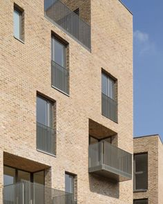 collaboration between 3 architects making new neighbourhood in larger masterplan - 17no. dwellings - Brentford Lock West - Riches Hawley Mikhail