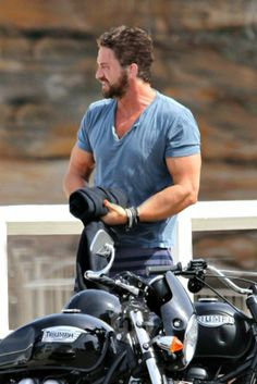 He's wanting to take the motorcycle all the way back ~ no Gerry where that's…                                                                                                                                                                                 More