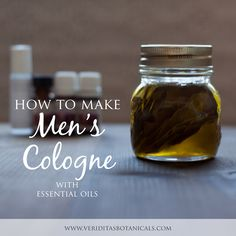 learn how to make a roll-on Men's Cologne with organic essential oils over on the Veriditas Blog. There's even a free printable label! These would make great gifts!