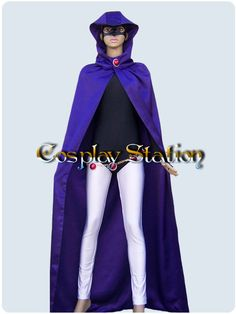 Teen Titans Cosplay Raven Costume_commission313 by Cosplaystation, $169.99