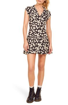online shopping for Reformation Concord Button Front Dress from top store. See new offer for Reformation Concord Button Front Dress Best Wedding Guest Dresses, Off Shoulder Gown, Loose Fit Jeans, Button Front Dress, Nordstrom Dresses, Fit Flare Dress, Women's Fashion Dresses, Plus Size Dresses, Trendy Outfits