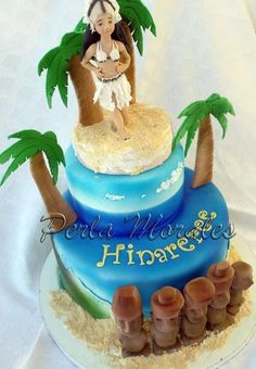 My cake to Sweet Summer Collaboration   - Cake by PerlaMorales