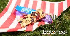 The perfect addition to a summer picnic - Mixed Berry Nut Balance Bare bar
