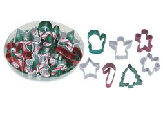 Little Obsessed - Mini Cookie Cutter Set, 7 Piece - Christmas, $9.99 (http://www.littleobsessed.com/mini-cookie-cutter-set-7-piece-christmas/)