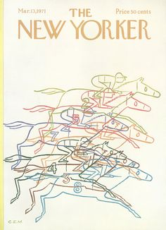 The New Yorker - Saturday, March 13, 1971 - Issue # 2404 - Vol. 47 - N° 4 - Cover by : Charles E. Martin