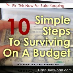 10 Simple Steps To Surviving On A Budget