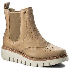 Botines CATERPILLAR - Skyrocket P309910 Cream Clarks, Chelsea Boots Damen, Ugg, Jodhpur, Textiles, Furla, Dr. Martens, Tory Burch, Karl Lagerfeld