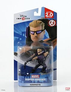Disney Infinity Marvel Super Heroes Hawkeye Figure  20 Edition >>> Want additional info? Click on the image.