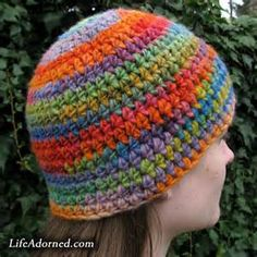 pattern for half double crochet hat - Yahoo Image Search Results