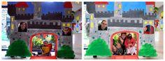 """En la Escuela Sr Don Gato tuvimos la """"Tarde Mágica"""", nos transformamos en UN CASTILLO al que sólo podían acudir personajes que vivían en él. Montamos un photocall a la entrada para hacer las fotos a las familias. Uno por uno, cada niño fue pasando por la puerta de nuestra muralla para participar en nuestra Feria medieval. Con ellos preparamos juegos tradicionales (la rana, la cola al burro…) y después jugamos con las familias. Niños y mayores nos lo pasamos genial!!"""