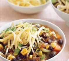 Southwestern Beef Chili With Corn