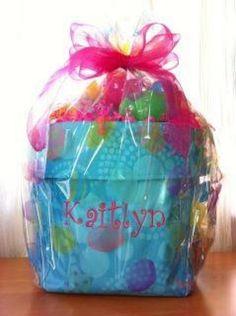 Easter Basket! Love Mini Utility Bins from Thirty-one