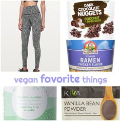 Favorite Vegan Products: 5 Vegan Products You will Love! Chocolate Clusters, Vanilla Bean Powder, Vegan Ramen, Vegan Meal Plans, Vegan Shopping, Vegan Cookbook, Best Vegan Recipes, Chicken Flavors, Vegan Fashion