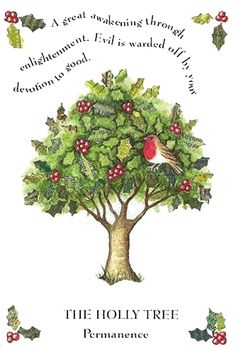 Among the Celtic tree astrology signs the Holly is one of regal status. Noble, and high-minded, those born during the Holly era easily take on positions of leadership and power. If you are a Holly sign you take on challenges easily, and you overcome obstacles with rare skill and tact.