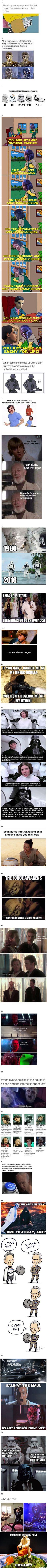 25 Star Wars Memes That Are Danker Than Dagobah