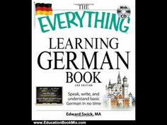 Education Book Review: The Everything Learning German Book: Speak, write, and understand basic Ge... - YouTube