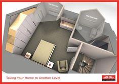 loft conversion design ideas - Google Search