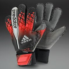 adidas Goalkeeper Gloves - adidas Predator Climaproof GK Gloves - Goalkeeping - Goalie Gloves - Black