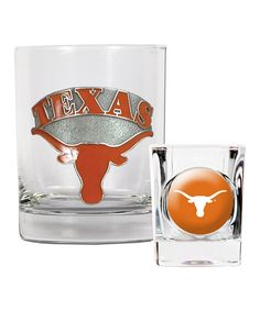 Look at this #zulilyfind! Texas Longhorns Tumbler & Shot Glass by Great American Products #zulilyfinds