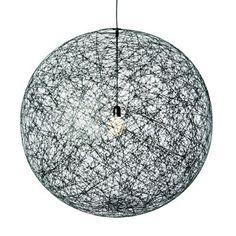 Moooi random light pendelleuchte schwarz pendelleuchte for Design leuchten replica