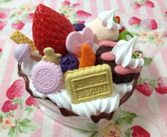Sweet deco case Box Polymer clay Sweet decoration by SweetieTiny, $15.99