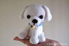 Free Amigurumi Crochet Pattern: Lil' Kino the Puppy