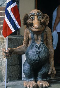 I am Norwegian and love trolls
