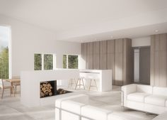 Joarc Architects is a design focused architectural office specializing in high quality projects across Finland and abroad Apartment Renovation, Apartment Interior, Cabin Interiors, Interior Design Studio, Architects, Home Decor, Nest Design, Decoration Home, Room Decor