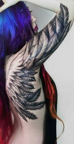 Wicked feather ink
