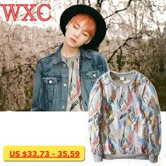 Kpop Hoodies Bangtan Boys Clothes Long Sleeve Women Hoodies Korean Kim Tae Hyung Women Sweatshirts Rap Monster WXC