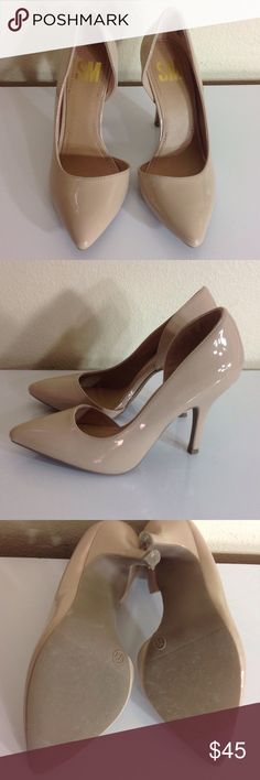 Nude Heels CONDITION: Good, only worn once!  CONCERNS: None   ⭐️ Feel free to ask questions or make an offer! ⭐️   Next Day Shipping! Sunday - Thursday  SM Shoes