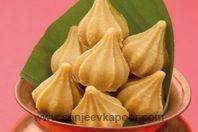 Mawa Modak: Mawa lovingly shaped into Lord Ganesha's favourite modak – sweet devotion!