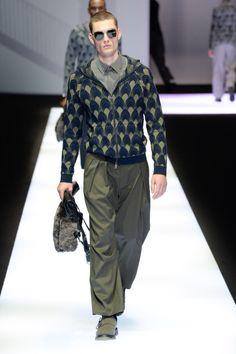 Emporio Armani | Menswear - Autumn 2017 | Look 27