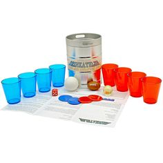 Beer Olympics Legit!! Everything you need to host the beer olympics, love it!