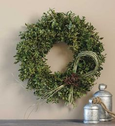 Oregonian Boxwood Wreath - VivaTerra