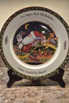 Susan Winget A Christmas Story Salad Plate 8\