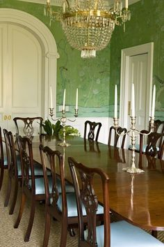 traditional dining room by Elizabeth Dinkel
