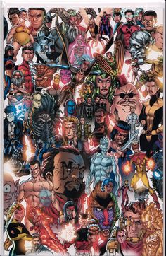 /r/ImaginaryMutants - The art of the X-Men and all mutants from their universe. Xmen Comics, Marvel Xmen, Marvel Art, Marvel Heroes, Captain Marvel, Marvel Villains, X Men, Comic Books Art, Comic Art