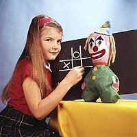 "Carole Hersee, the iconic ""Test Card Girl"" whose face appeared on the BBC for over 40 years - and is still scary! 1980s Childhood, My Childhood Memories, Magic Memories, Test Card, Kids Tv, Vintage Tv, Teenage Years, Retro Toys, Classic Tv"