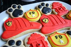 """Photo 17 of 22: Fire Truck / Birthday """"Sound the Alarm Firehouse Party"""" 