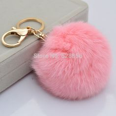 Cute Genuine Leather  Rabbit fur ball on Aliexpress.com | Alibaba Group