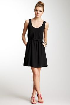 Lush  Scoop Neck Sleeveless Dress