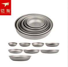 Keith Outdoor Camping Hiking Travel Picnic Kitchen Titanium Plate Dish Tableware 7Size KT365 *** More info could be found at the image url.