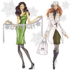 Fabulous Doodles-Fashion Illustration Blog-by Brooke Hagel: December 2010