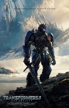 Aksiyon ve bilim kurgu serisi olan Transformers 5: Son Şövalye 23 Haziran'da vizyona giriyor. #maximumkart #film #movie #vizyon #vizyondakifilmler #filmizle #sinema #cinema