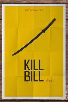 Kill Bill Vol 1 minimalist movie poster Minimal Movie Posters, Cinema Posters, Film Posters, Pixar Poster, Movie Poster Art, Minimalist Poster, Minimalist Art, Kill Bill Movie, Poster Minimalista